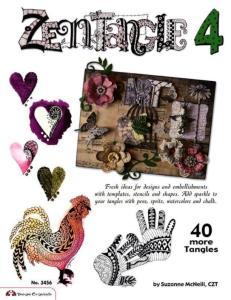 Zentangle 4_ 40 More Tangles - Suzanne McNeill